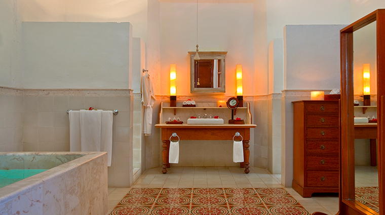Hacienda Temozon bathroom