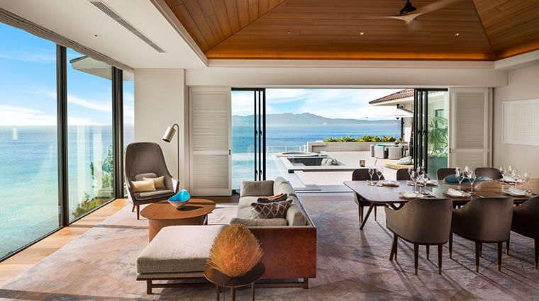 halekulani okinawa Orchid Suite Living Room