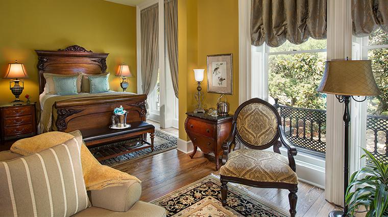 hamilton turner inn JAmes Oglethorpe bedroom