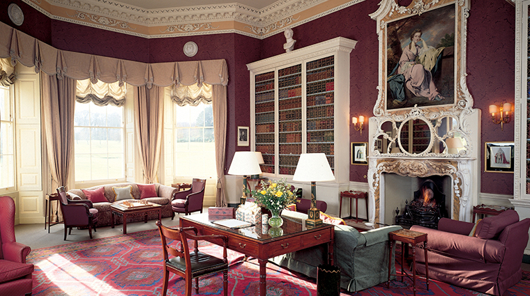 hartwell house spa library