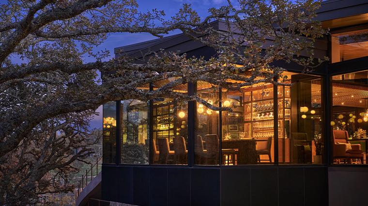 hazel hill oak room exterior