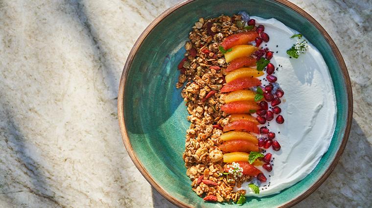 hazel hill yogurt and granola