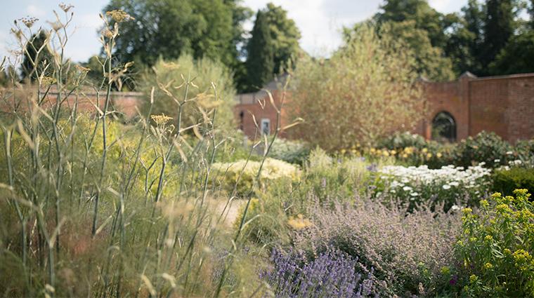 heckfield place walled garden