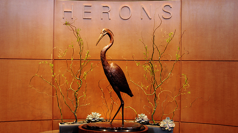 herons sculpture