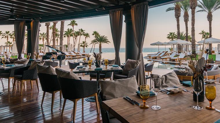 hilton los cabos beach golf resort Vela dining