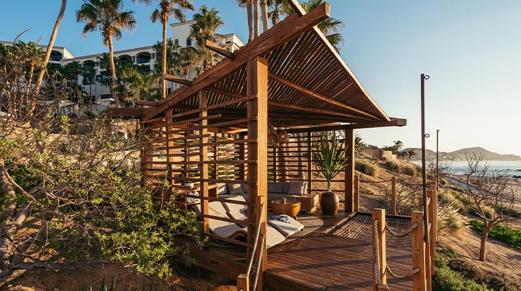 hilton los cabos beach golf resort cliffside cabana