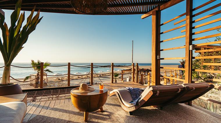 hilton los cabos beach golf resort enclave beach club lounger