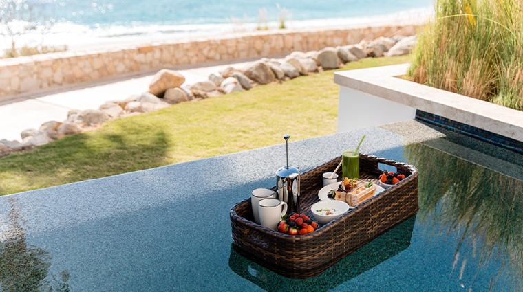 hilton los cabos beach golf resort floating breakfast