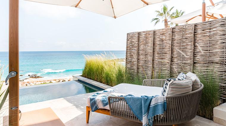 hilton los cabos beach golf resort plunge pool suite