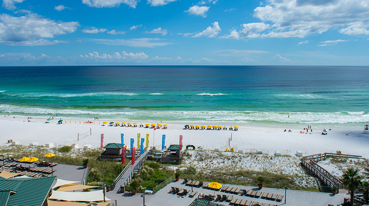 hilton sandestin beach golf resort spa beach