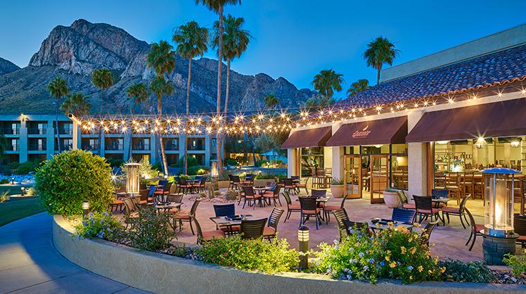 hilton tucson el conquistador golf tennis resort Epazote patio
