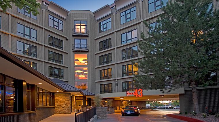 hotel 43 exterior