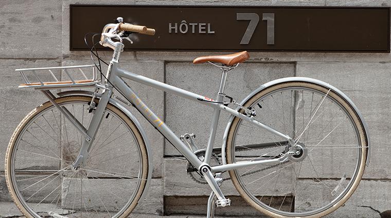hotel 71 bike