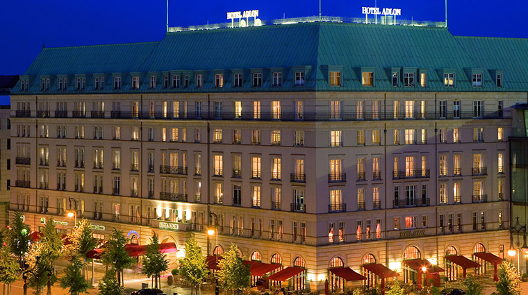 Adlon Kempinski exterior night