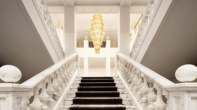 Adlon Kempinski lobby stairs