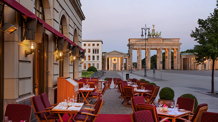 Adlon Kempinski quarre terrace