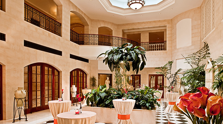 Adlon Kempinski winter garden