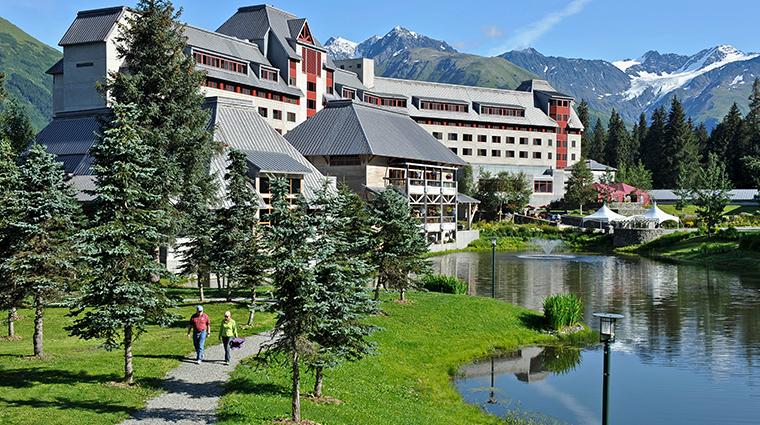 hotel alyeska exterior summer