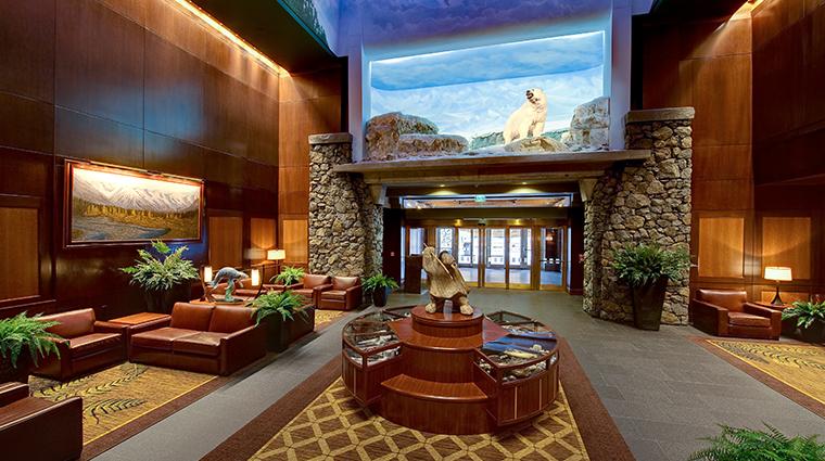 hotel alyeska lobby