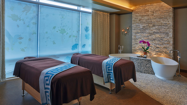 hotel arista treatment room