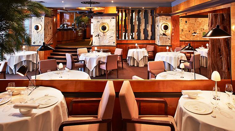 hotel balzac Pierre Gagnaire restaurant