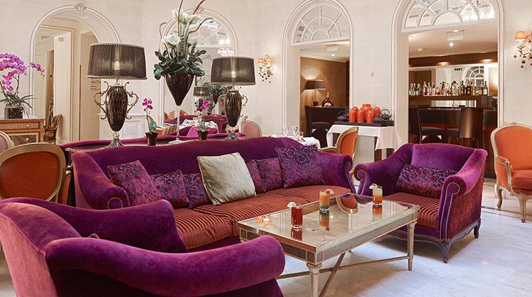 hotel balzac lobby lounge