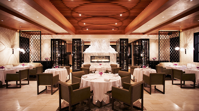 hotel bel air dining room