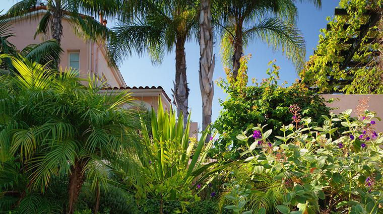 hotel bel air exterior gardens