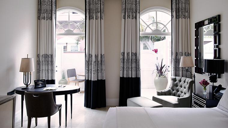 hotel bel air guestroom