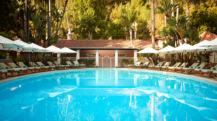hotel bel air pool