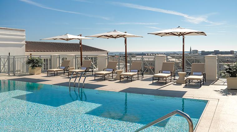 hotel bennett rooftop pool