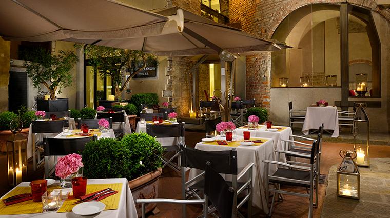 hotel brunelleschi Osteria del la Pagliazza Al Fresco