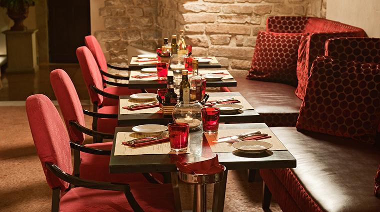 hotel brunelleschi Osteria del la Pagliazza interior