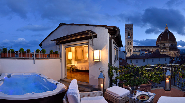hotel brunelleschi pool suite terrace