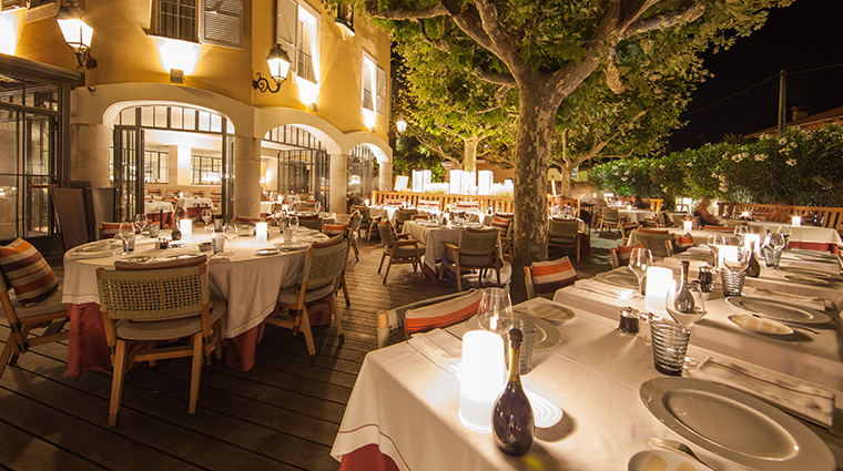 hotel byblos saint tropez new restaurant rivea