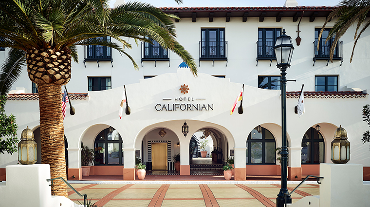 hotel californian main entrance