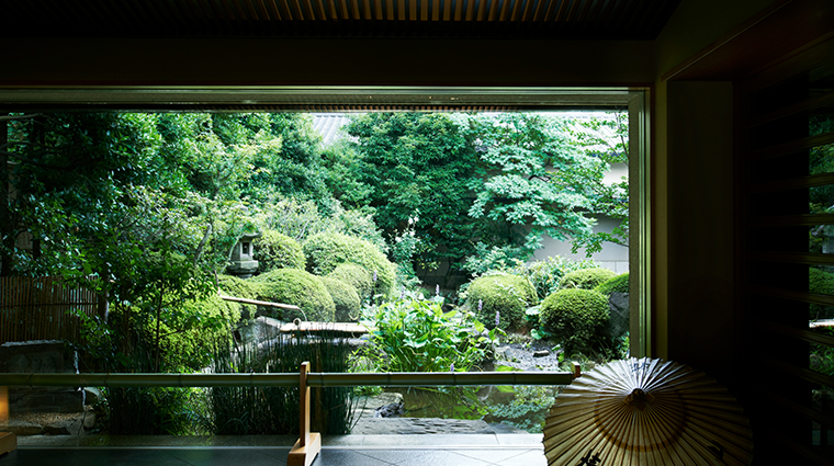 hotel chinzanso tokyo Kinsui entrance