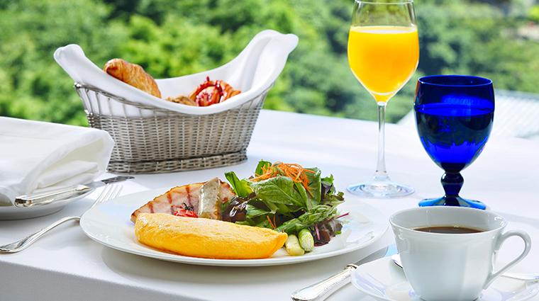hotel chinzanso tokyo breakfast