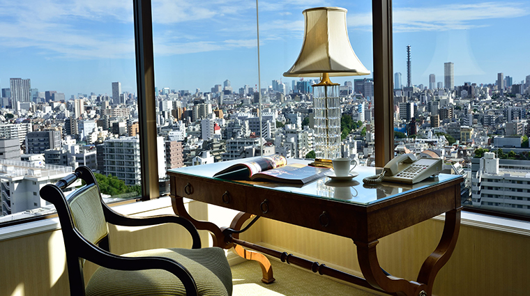 hotel chinzanso tokyo executive suite view