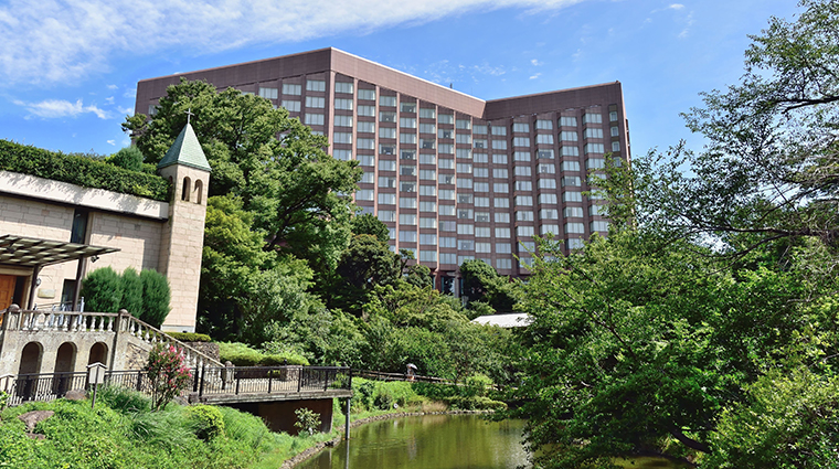 hotel chinzanso tokyo exterior