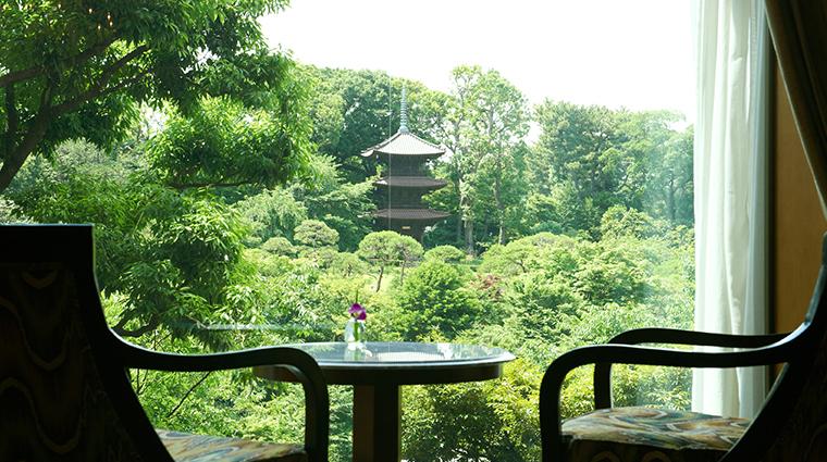 hotel chinzanso tokyo garden view