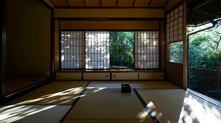 hotel chinzanso tokyo tea ceremony room