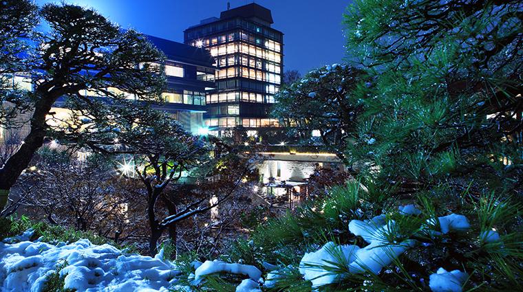 hotel chinzanso tokyo winter