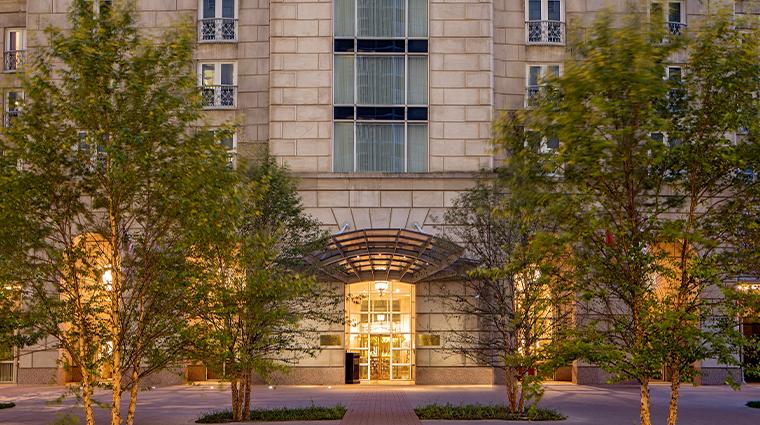 crescent court hotel dallas exterior front