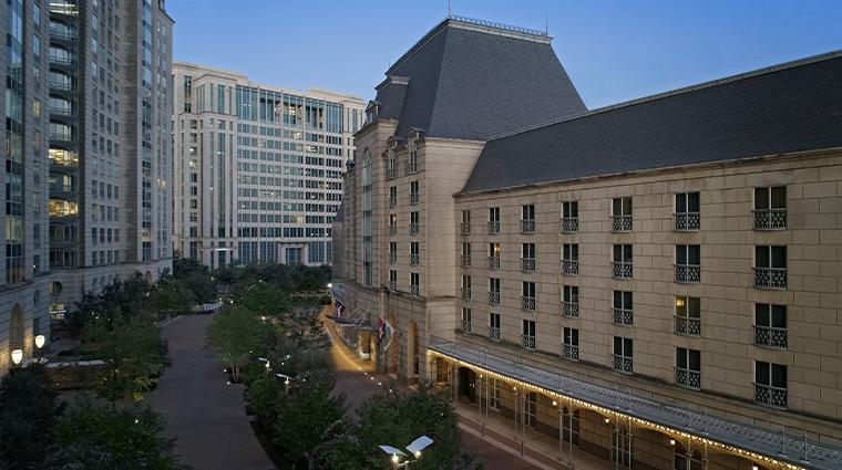 crescent court hotel dallas exterior