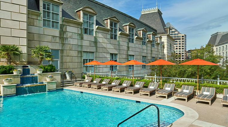 crescent court hotel dallas pool