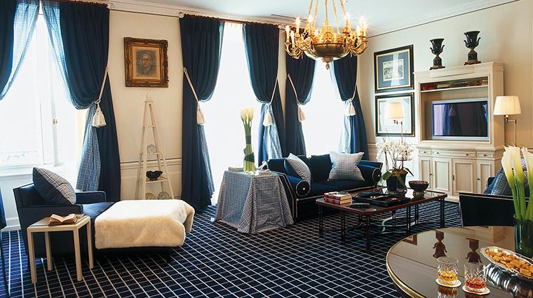 Hotel Angleterre living room