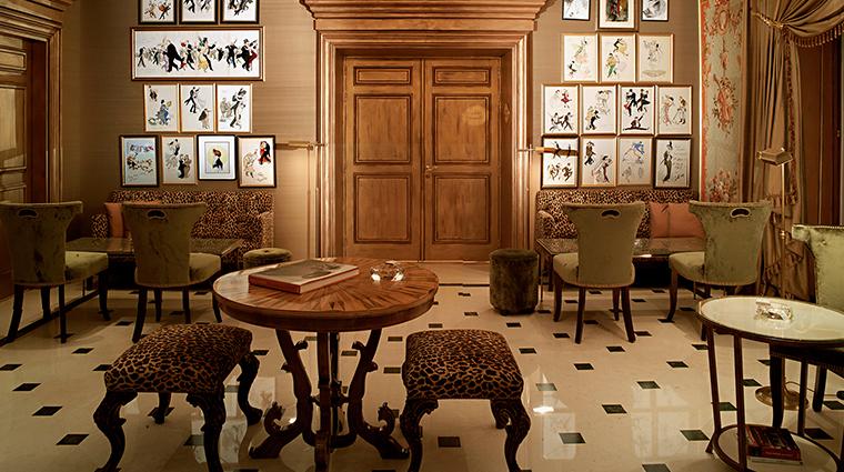 Hotel Angleterre lobby