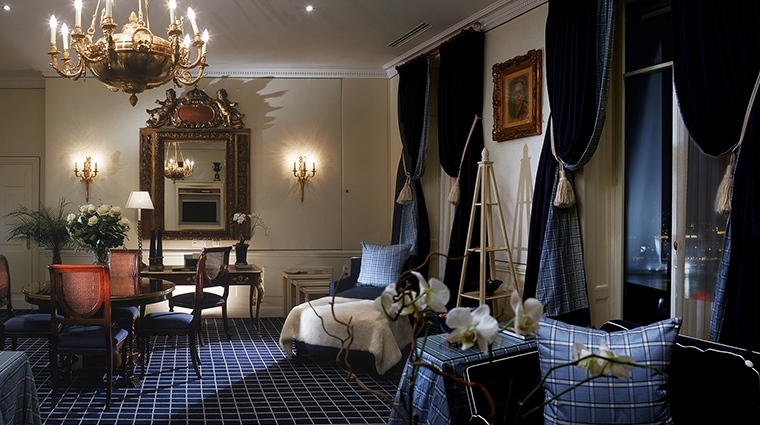 Hotel Angleterre presidential suite