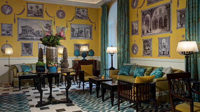 hotel de la ville Julep print room